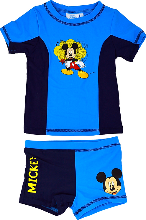 Disney Mickey Mouse Rash Swim Set Blue