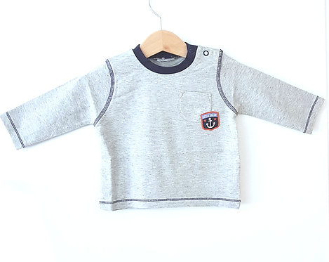 Babies Little Sailor Long Sleeve Top