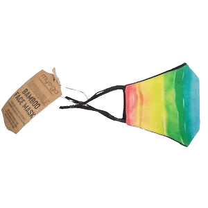 Myga Reusable Bamboo Face Mask Rainbow
