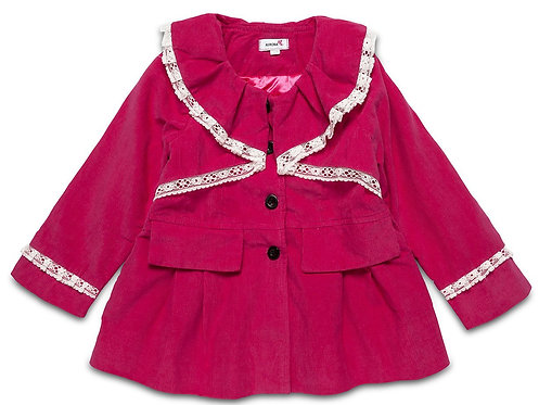 Pink Corduroy Traditional Light Weight Jacket