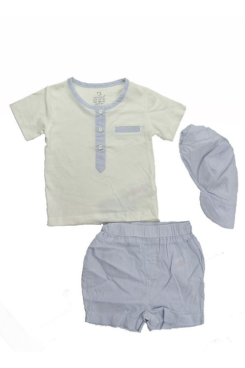 Baby Boys 3 Piece Summer Set