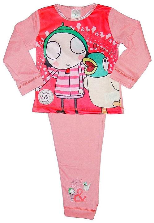 Official Cbeebies Sarah And Duck Pyjamas