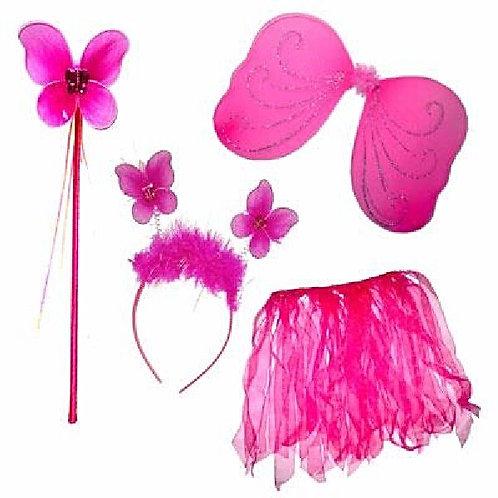 Fuschia Fairy Dressing up set