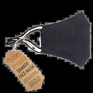 Myga Reusable Bamboo Face Mask Black