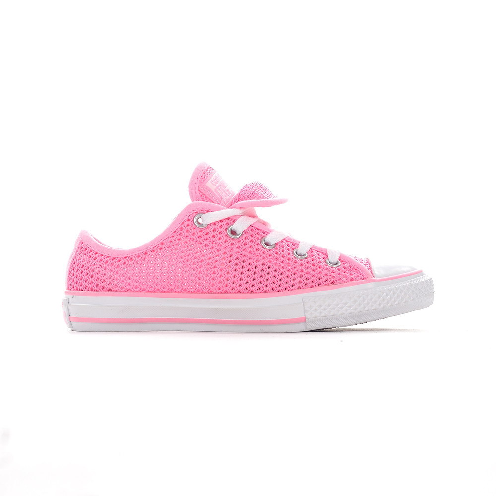 Converse All Star Double Tongue Ox Pink Glow Trainers
