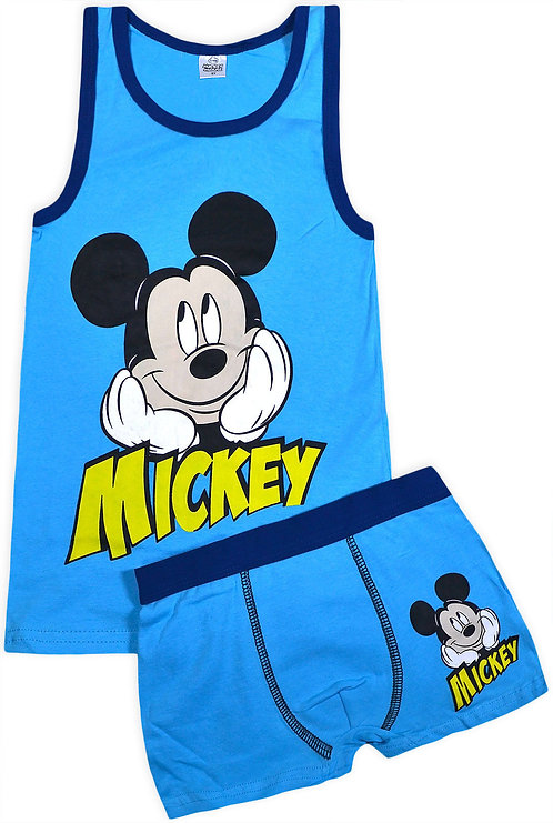Disney Mickey Mouse Underwear Set Blue