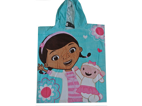 Doc McStuffins Hooded Poncho Towel