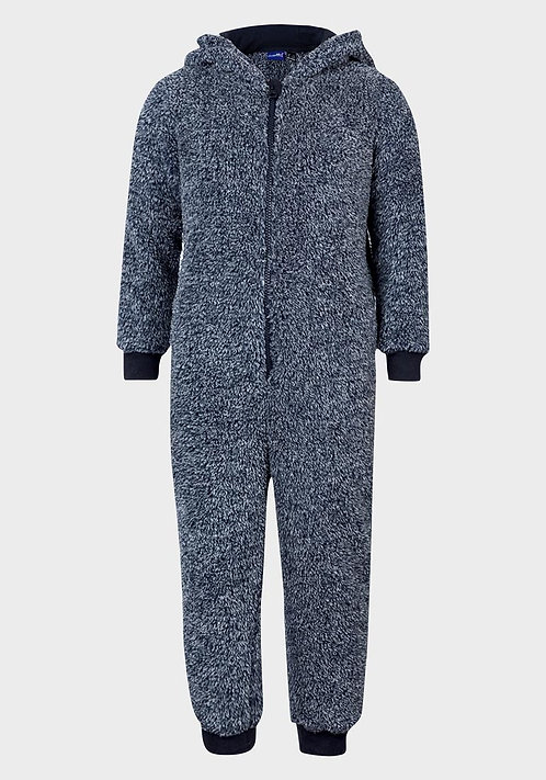 Ex UK Chainstore Boys Fleece Onesie (1/2y-4/6y)