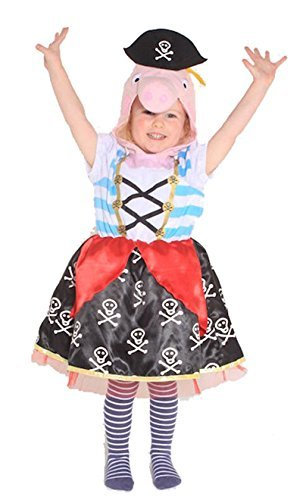 Peppa Pig Pirate Fancy Dress Costume