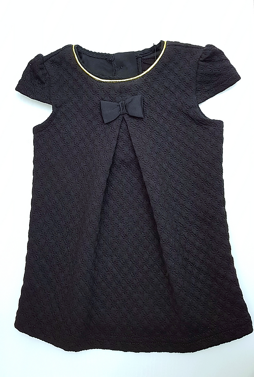 Baby Girls Black And Gold Party Dress *Earlyday