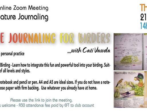 Nature Journaling Opportunities