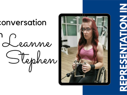 In conversation with Leanne Stephen