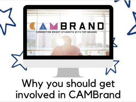 Why you should get involved in CAMBrand