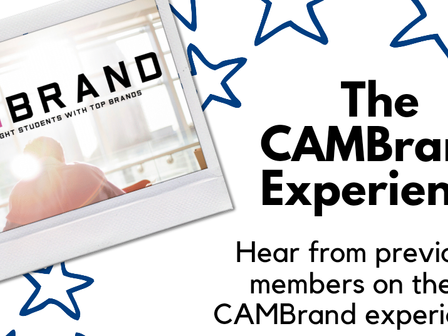 The CAMBrand Experience