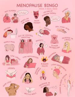 Menopause Bingo