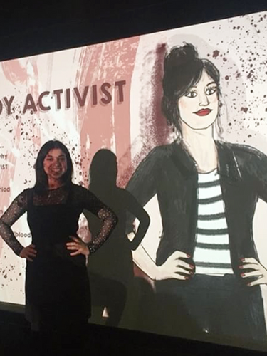 Film Cover for 'Bloody Activist'