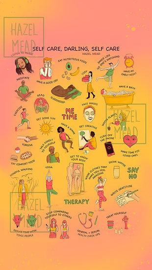 Self Care, Darling Phone Wallpaper