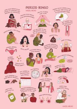 Vagina Museum Period Exhibition print
