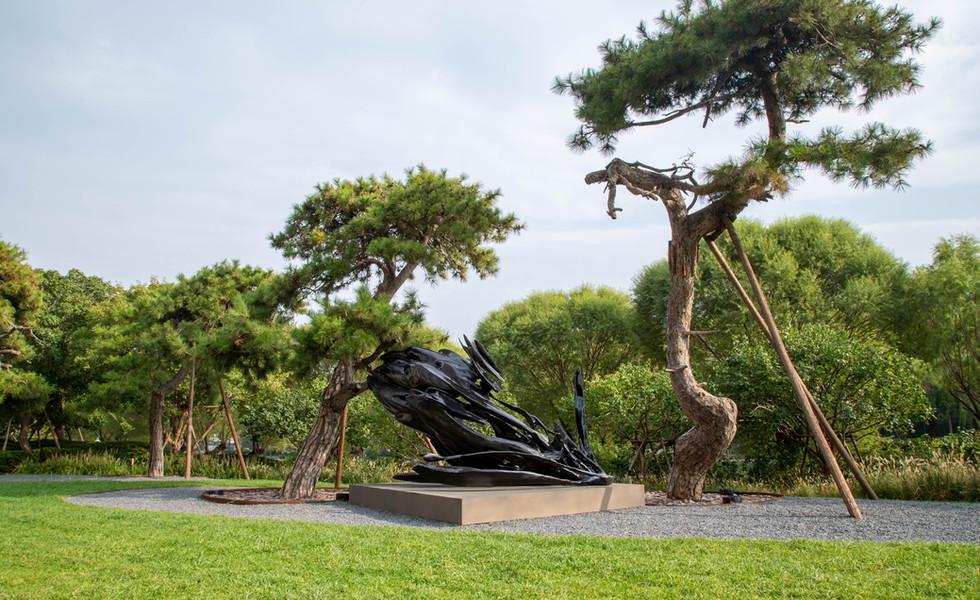 Bvlgari Hotel Beijing,宝格丽酒店户外雕塑作品合作