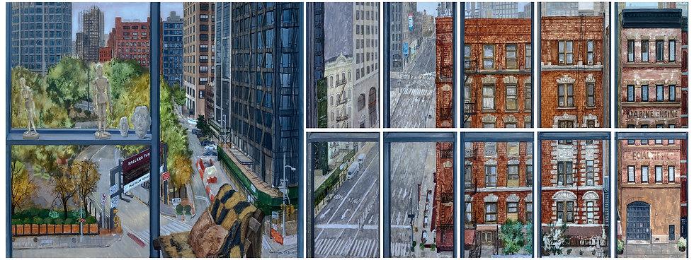 窗外 通往新泽西The Window Leads to New Jersey合成