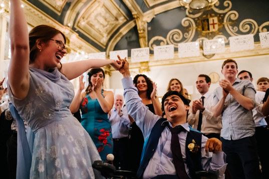 Wedding of Max and Candy at the Old Finsbury Town Hall
