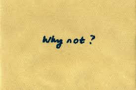 Why Can't I?