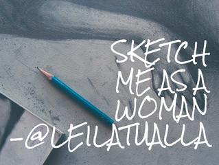 Sketch me as a woman
