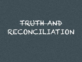 I'll Have Reconciliation, but Hold the Truth