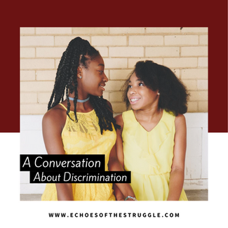 A conversation about discrimination
