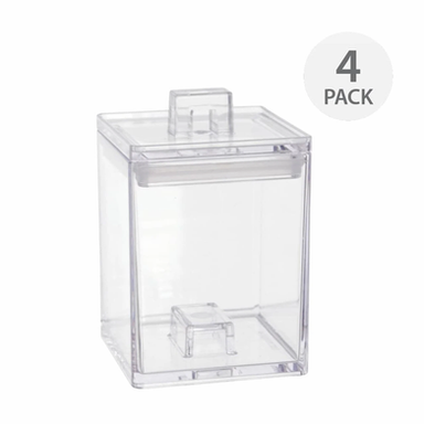 HOWARDS | Zak Stackable Canisters Set of 4 Mini Containers