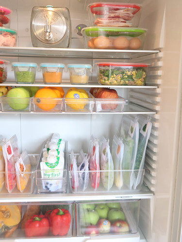 THE ocd by Christine _ organise clean declutter _ Fridge