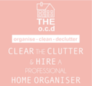 THE o.c.d   organise • clean •declutter   Spring Sale