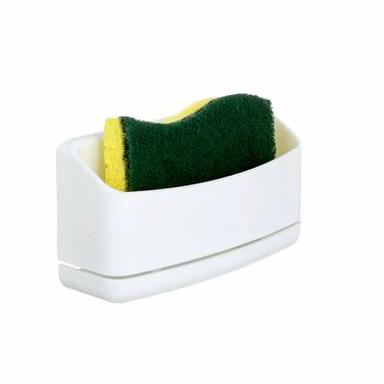 BUNNINGS | Command White Adhesive Sponge Caddy