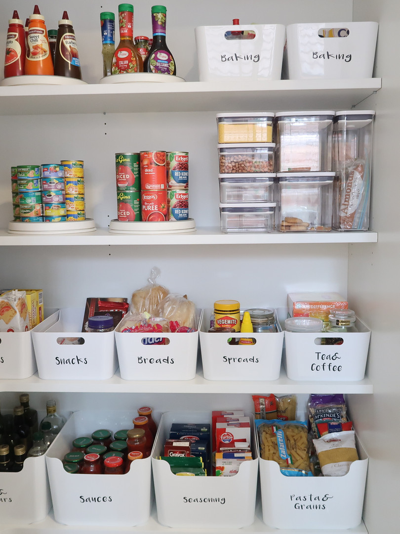THE ocd by Christine _ organise clean declutter _ Pantry