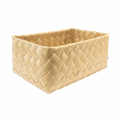 HOWARDS | IconChef Wide Woven Basket Rectangular L