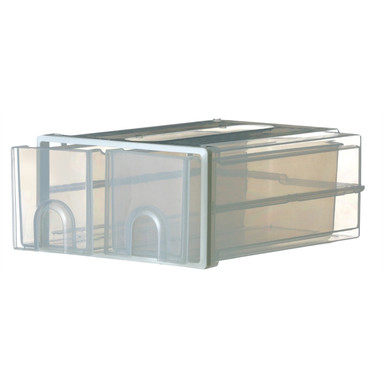 BUNNINGS | Oates Stackable Drawers Twin