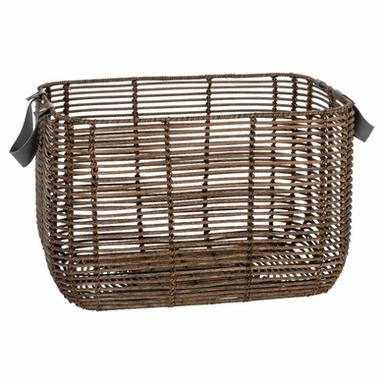 HOWARDS | Howards Poly Rattan Rectangular Basket w