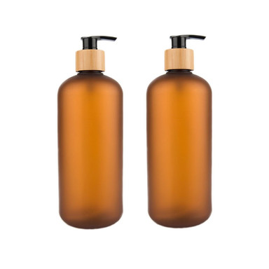 LITTLE LABEL CO | Brown Plastic Pump Bottle 500ml & 800ml
