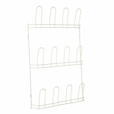 HOWARDS | Shoe Rack 6 Pair White