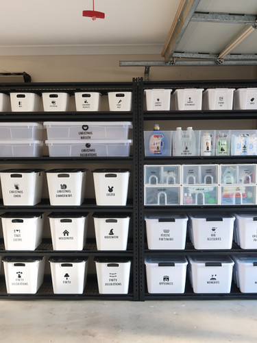 THE ocd by Christine _ organise clean declutter _ Garage