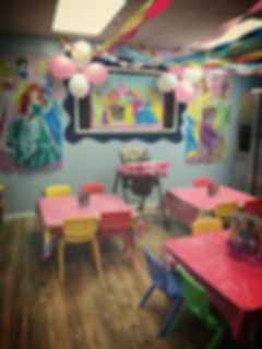Princess decorations 1st birthday