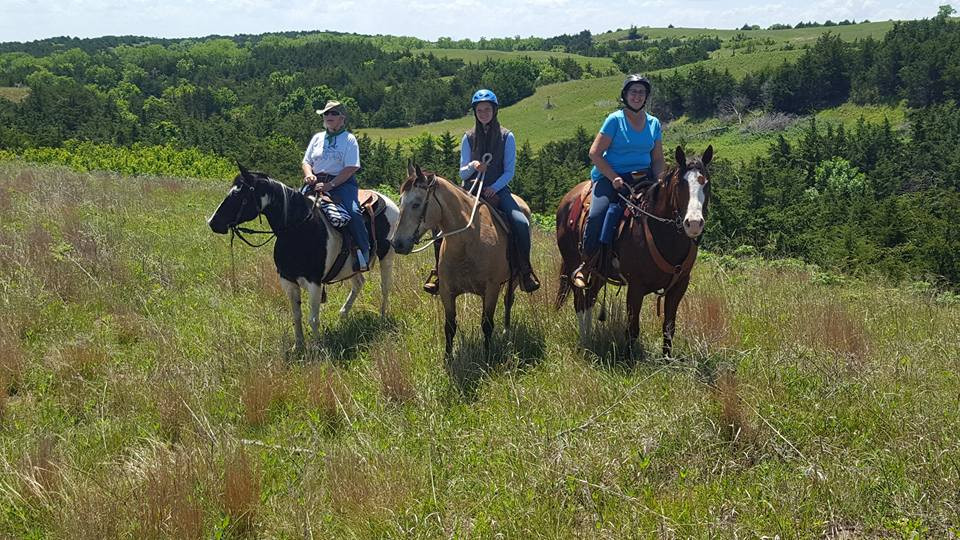 Friend Riding on WildLife Management Area