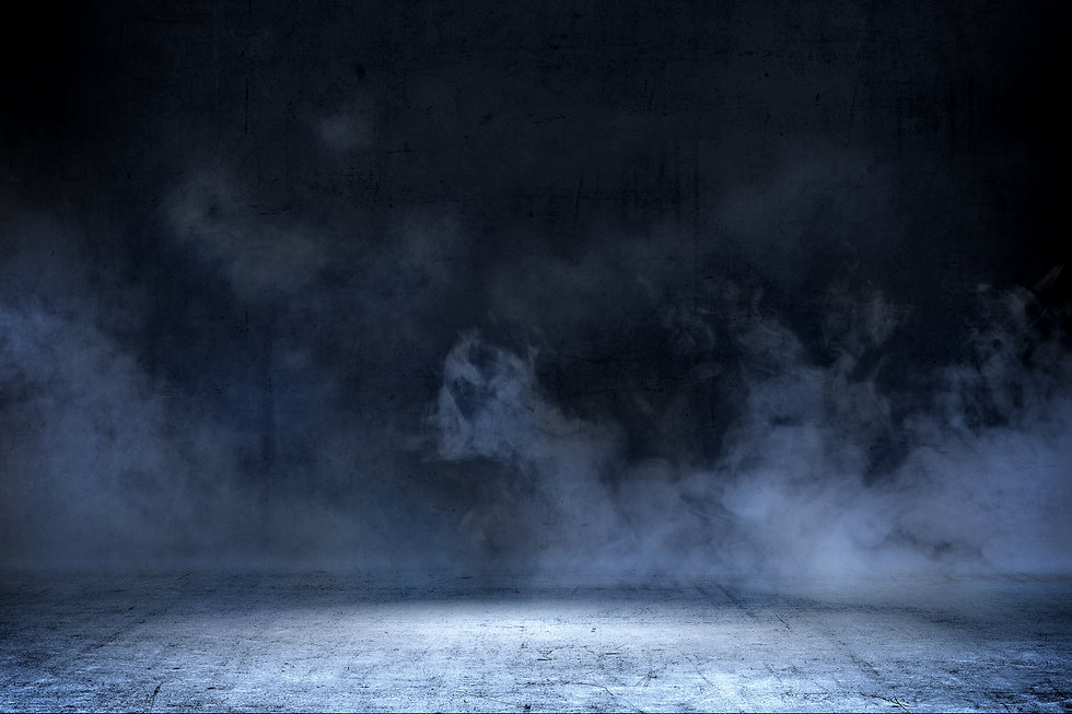 room-with-concrete-floor-smoke-backgroun