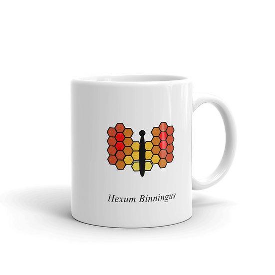 Datavizbuttefly - Hexum Binningus - Mug