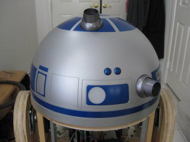 Joel's R2-D2 Dome Rear