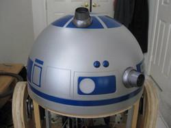 Joel's R2-D2 Dome Rear