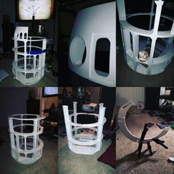 Dustin Evans' 3D Printed R2