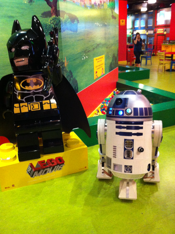 R2-D2 and Batman