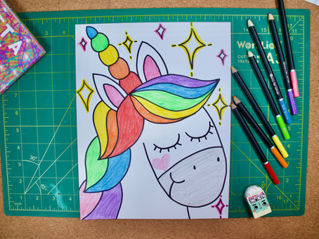 How to Draw a Unicorn!