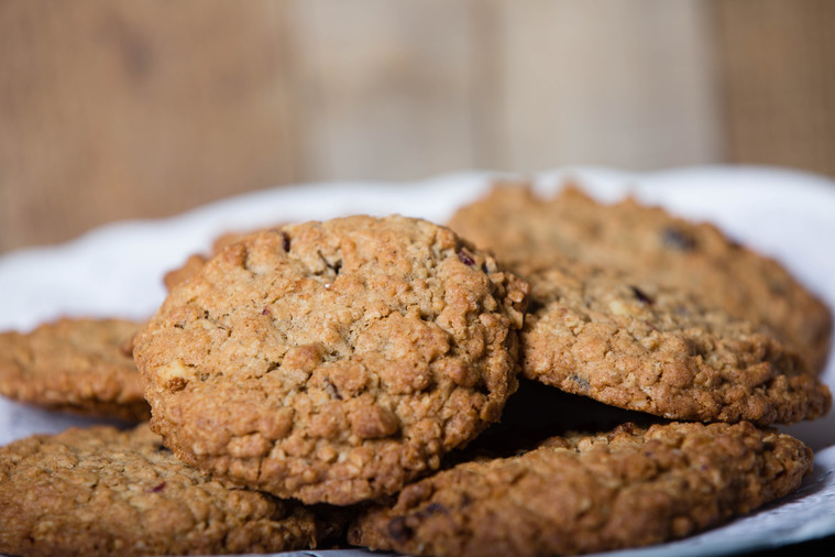 Craisin-Walnut Oatmeal Cookies